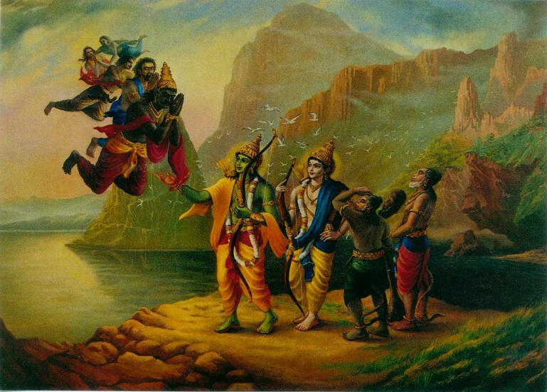Vibhisan, Ravana's bro...
