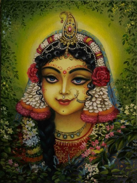 Radharani Krishna Print # 165