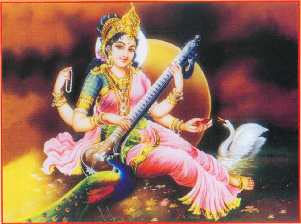 Sarasvati, Goddess of Learning