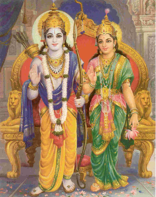 Lord Ramachandra and S...