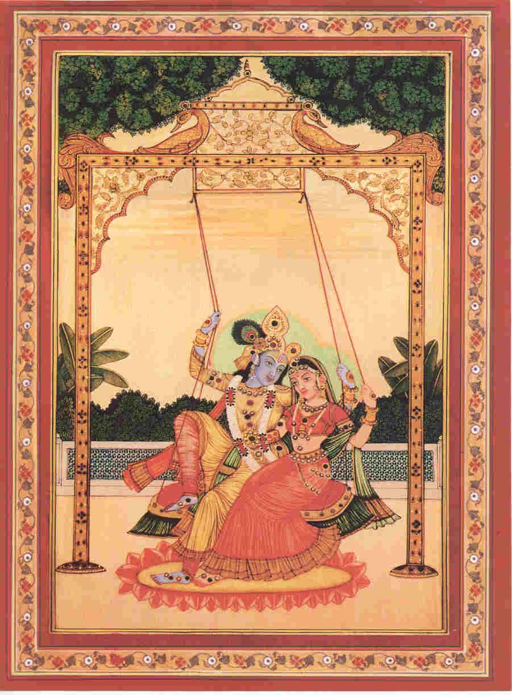 Krishna Print Eighty-seven