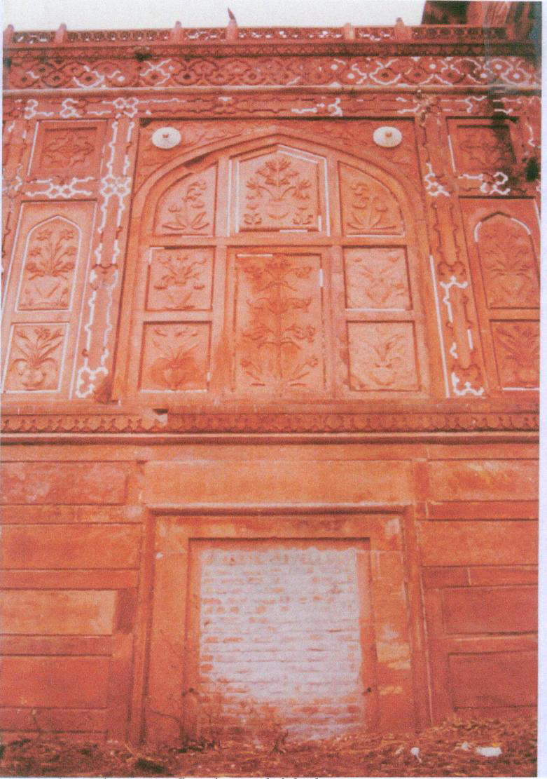Carbon Dating of The Taj Mahal Door.