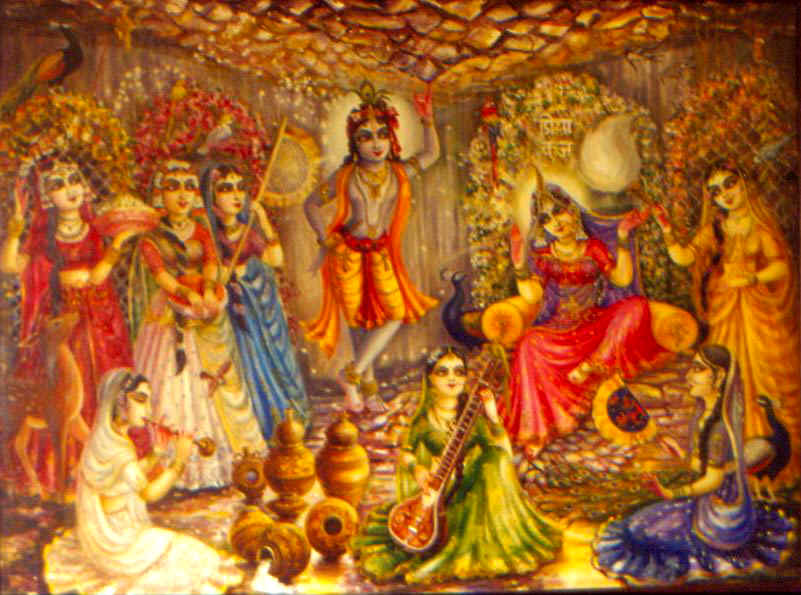 wallpaper of radha krishna ji
