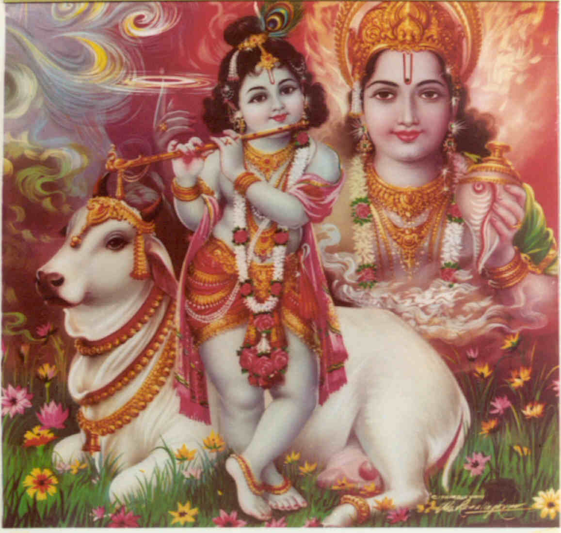 Krishna Print One Hundred One