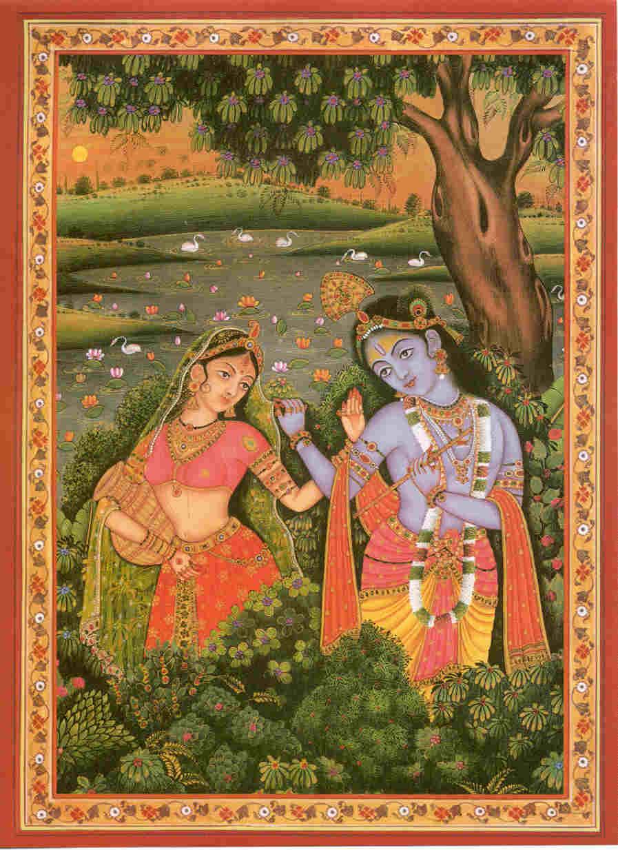 Krishna Print Eighty-nine